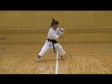 7 Year Old Girl Karate Master - Kankudai
