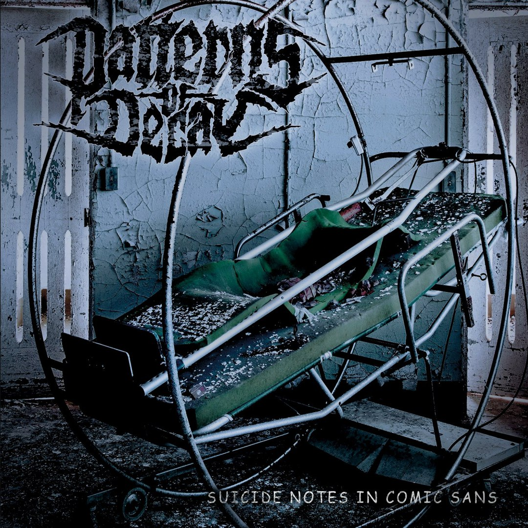 Patterns of Decay - Suicide Notes in Comic Sans (2018)