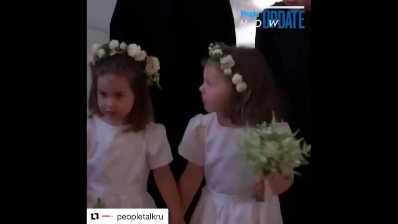 церемония венчания британского принца Гарри иамериканской актрисы Меган Маркл💍💍
