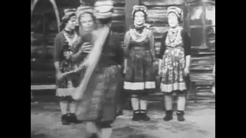 Читинская обл., Красночикойский р-н, с. Малоархангельск. Песня Я малым, я малёшенька. 1970 г.