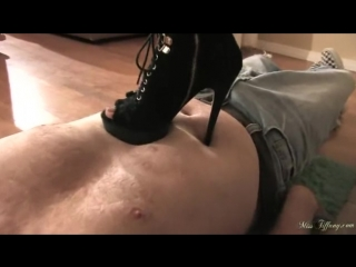 Miss Tiffany Trample With Heels