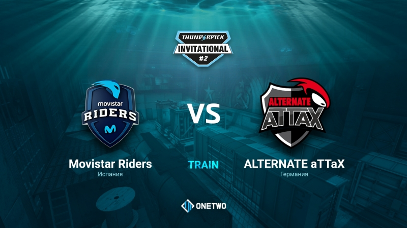 Thunderpick Invitational 2 | Movistar Riders vs ALTERNATE aTTaX | BO3 | de_train | by Afor1zm