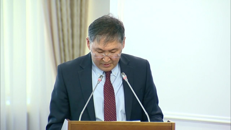 Об основных направлениях деятельности МОН РК в 2018 году (Ерлан Сагадиев)