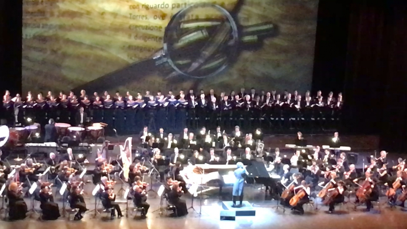 1 апреля 2017. Концерт Энио Морриконе в Москве