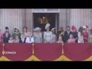 Королева возвращается в Букингемский дворец 09 06 2018