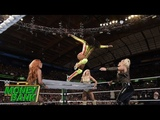 Flair pulls every Superstar off a ladder by force Money in the Bank 2018 (WWE Network Exclusive)