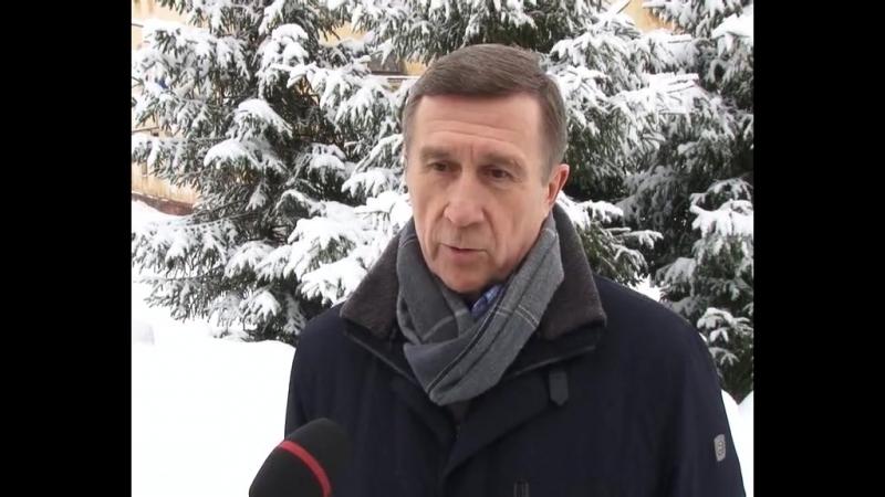 Клинцевич Ф. А. в Новодвинске, реп. НордТВ, 2018 г.