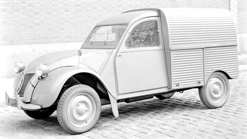 Citroen 2CV Fourgonnette AZU 1955–58