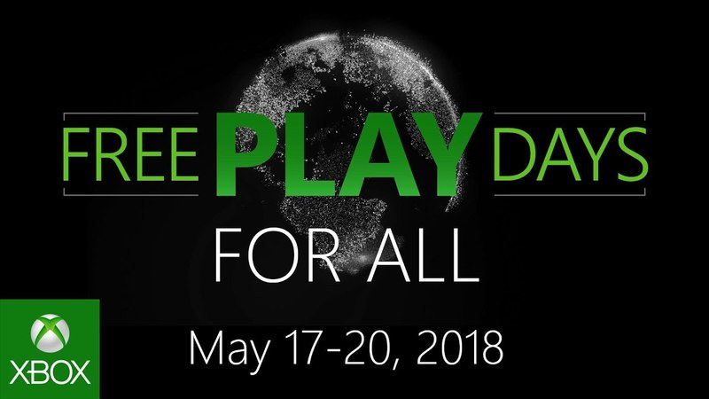 Free Play Days For All - May 17-20, 2018