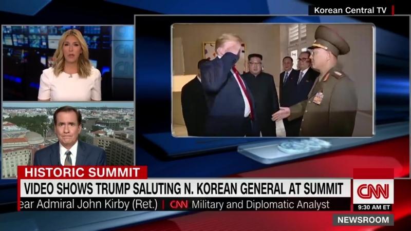 Трамп отдал честь северокорейскому генералу