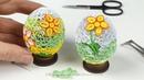 DIY - OEUF de Pâques 3D en Quilling - TUTO Complet