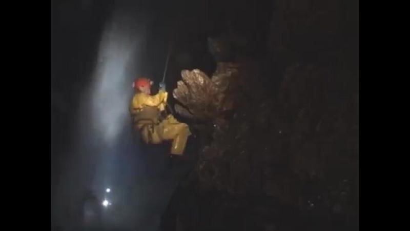 Глубочайшая пещера Китая (Система Тянсинская, Перово-Спелео 2007 год)