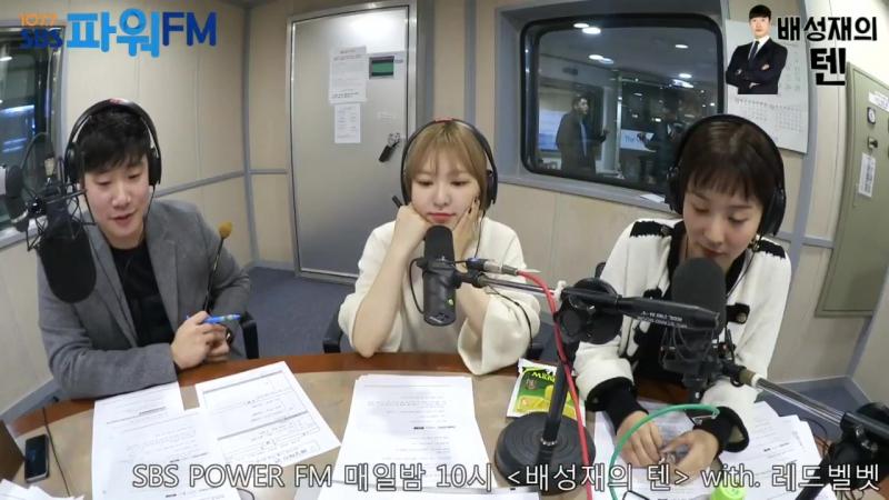 171124 Seulgi, Wendy (Red Velvet) @ SBS Bae Sung Jae's Ten