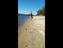 мама на пляже труханов
