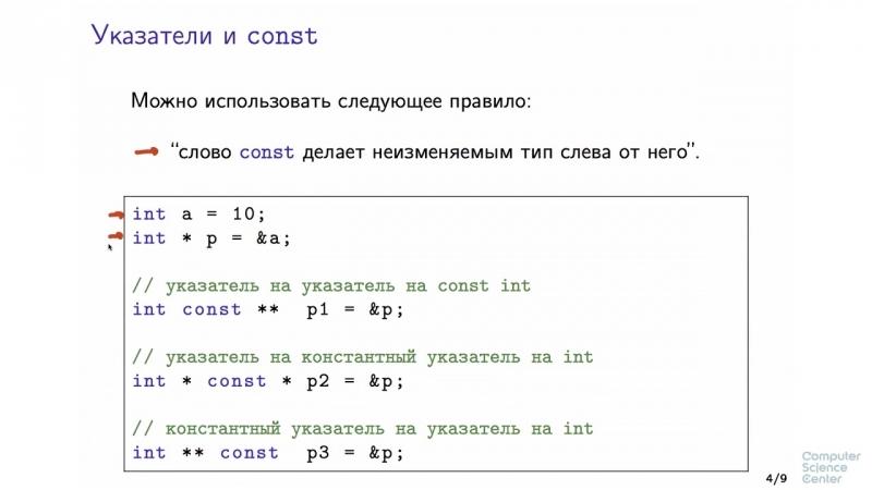 03 - C. Структуры и классы