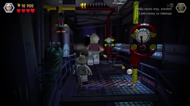 [Qewbite] LEGO Jurassic World Прохождение - Часть 9 - УЖАСЫ ПАРКА
