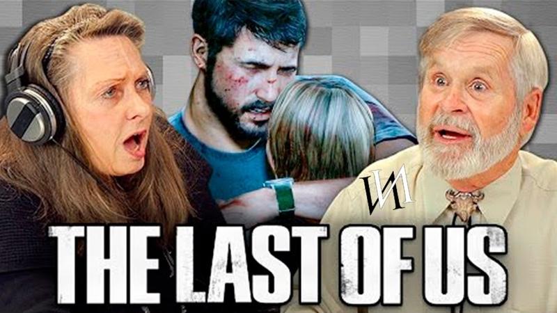 Реакция стариков на The Last of Us | Иностранцы пенсионеры играют в игру Последние из нас