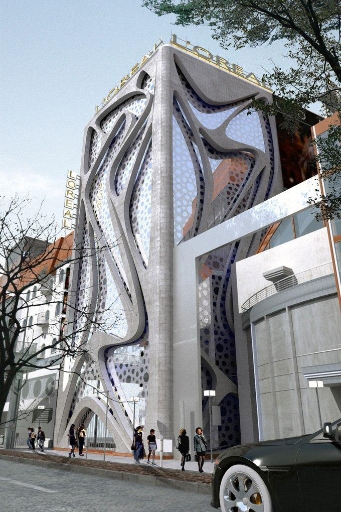 Здание L'Oreal в Стокгольме