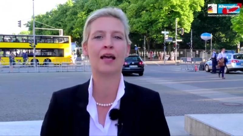 Susanna ist ein weiteres Opfer von Merkels Politik - Alice Weidel, AfD.mp4