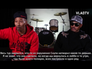 Onyx on Chi Ali Getting Arrested for Murder After Murder Scene in Strapped (Part 5) [Russian Subtitles]