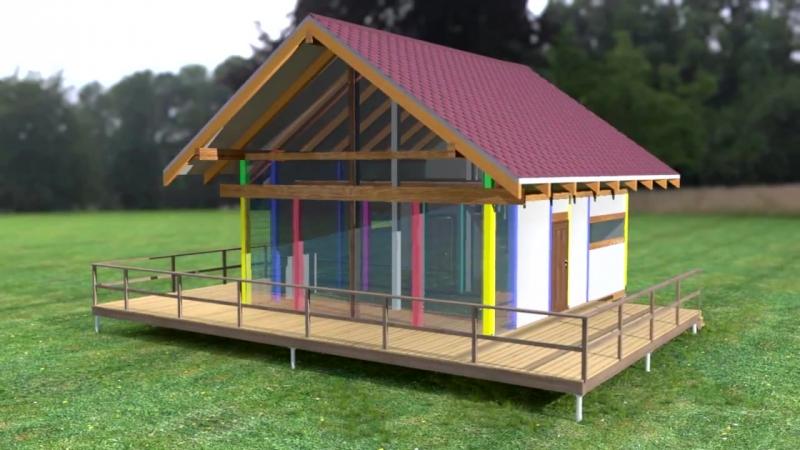 Строительство каркасного дома. Технология немецкий фахверк