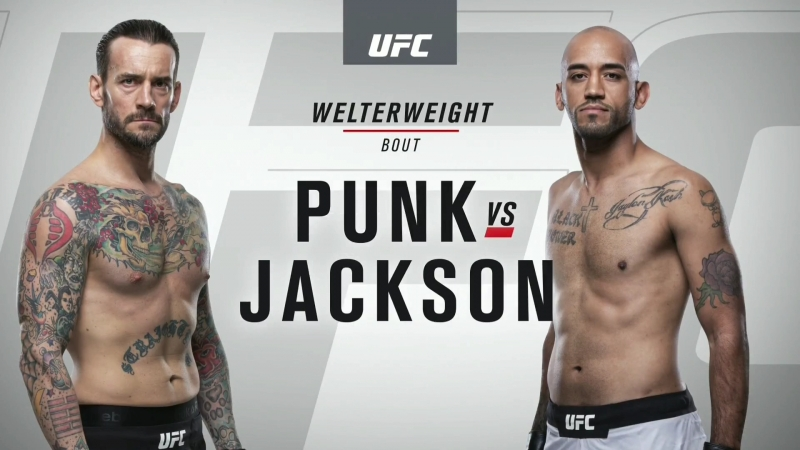 UFC 225 (Weigh-in) CM Punk VS Mike Jackson