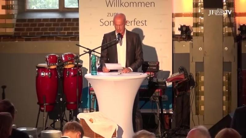 Denn Frau Merkel ist eine ehrenwerte Frau - Festrede von Joachim Steinhöfel
