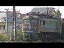 Электровоз серии ВЛ23 с грузовым составом Азербайджан