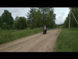 Первая поездка на скутере