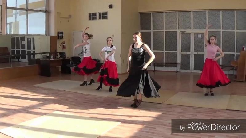 Школа танца фламенко Хитана mp4
