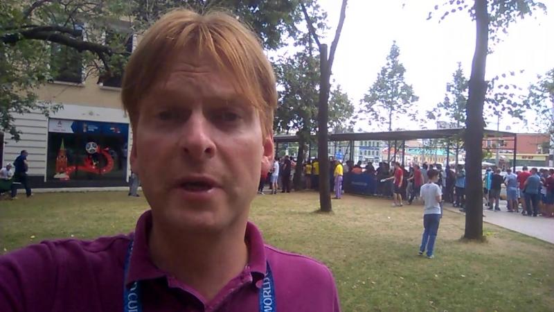 Иван Жидков перед матчем Франция – Хорватия