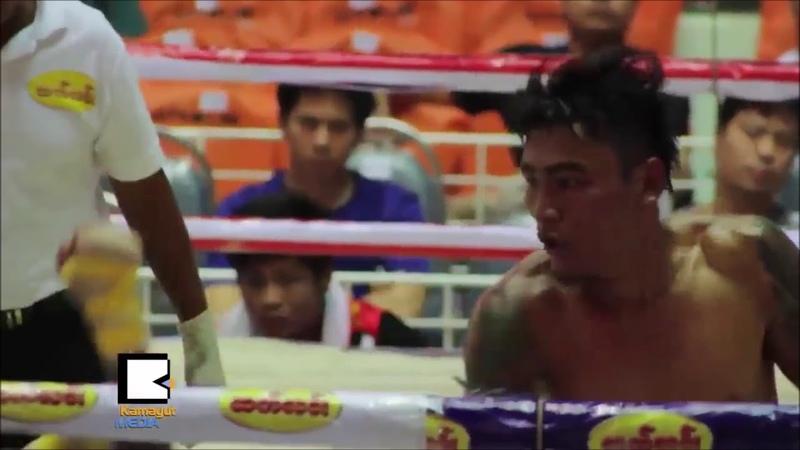 Бирманский бокс нокауты