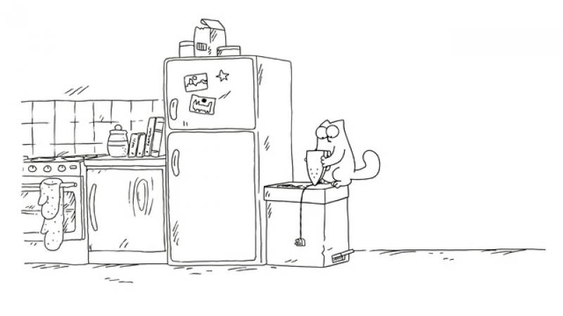 Кот Саймона • Объедки для кота