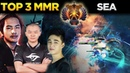 World's Best Dota 2 Players TOP 3 MMR Rank of SEA