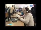 Липецкие пенсионеры записываются в очередь, чтобы освоить компьютер