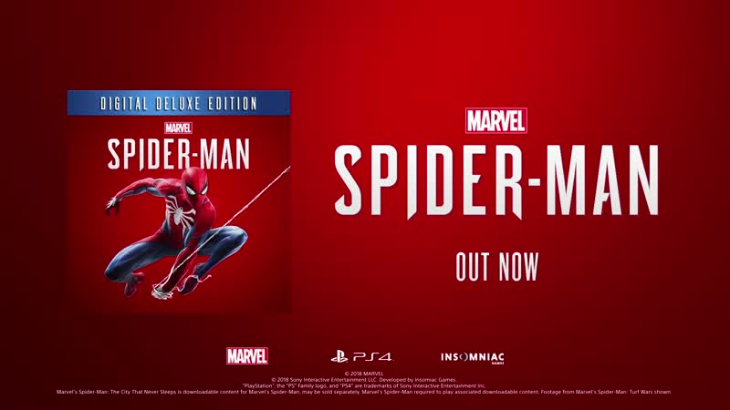 Marvel's Spider-Man Turf Wars Just the Facts PS4