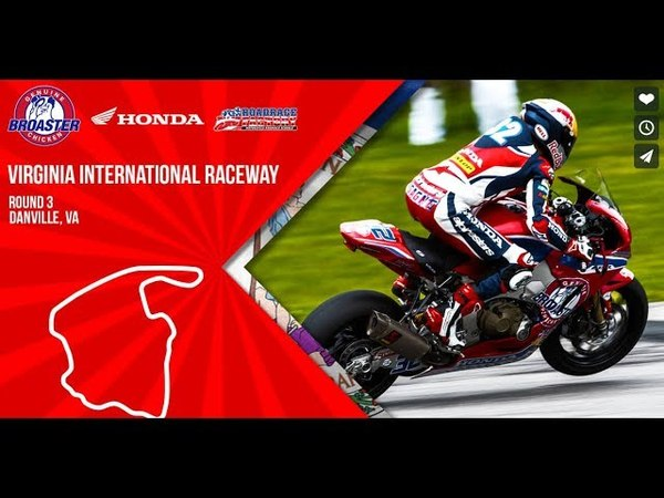 MotoAmerica Round 3 Virginia International Raceway