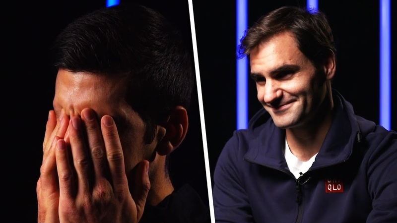 ATP Tennis stars try to spell each others names!