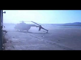 Момент аварии вертолета Ми-8 в ХМАО попал на видео