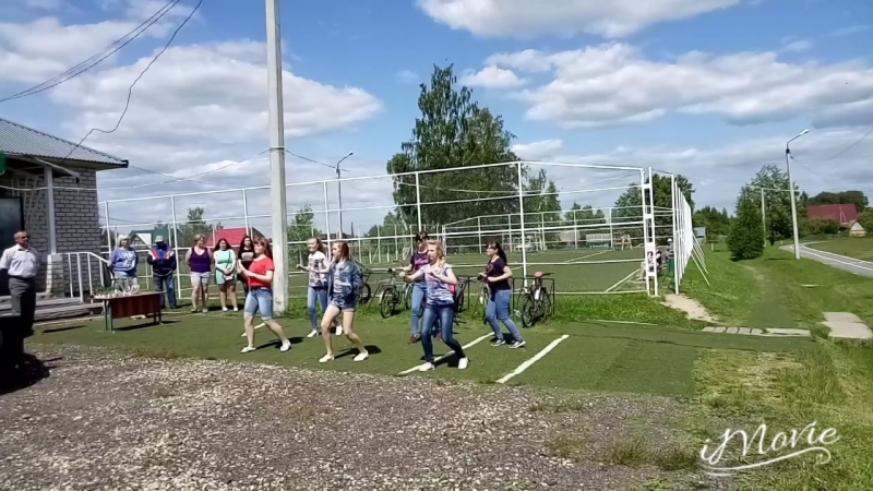 Фестиваль ГТО 2018 разминка зарядка Кесова Гора