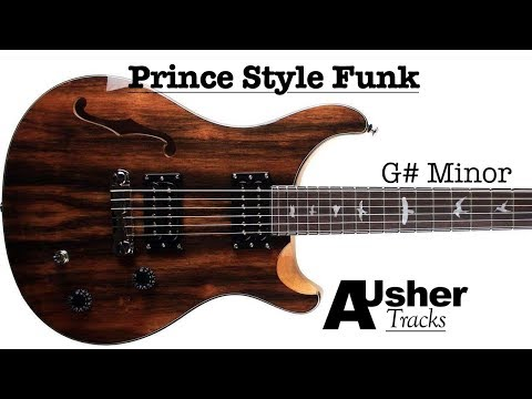Electric Funk in Gminor | Guitar Jam Track