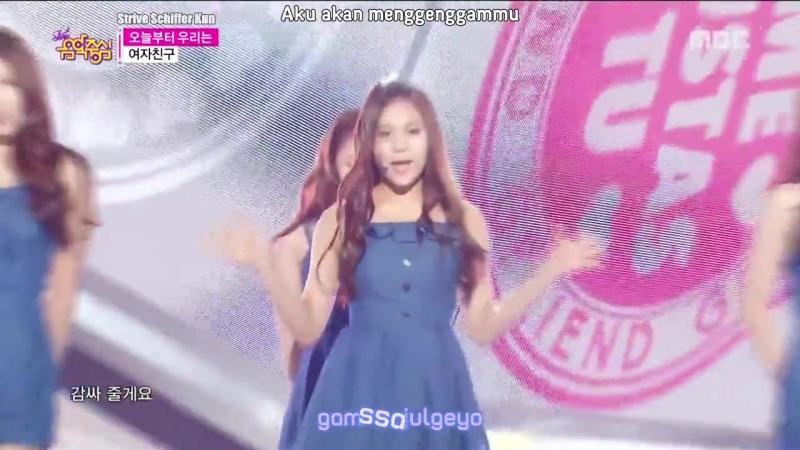 [Sub IndoKara] Show Music core GFRIEND - Me Gustas Tu (29 Agustus 2015)