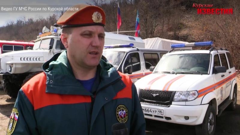 Курские спасатели очистили русло реки Тускарь
