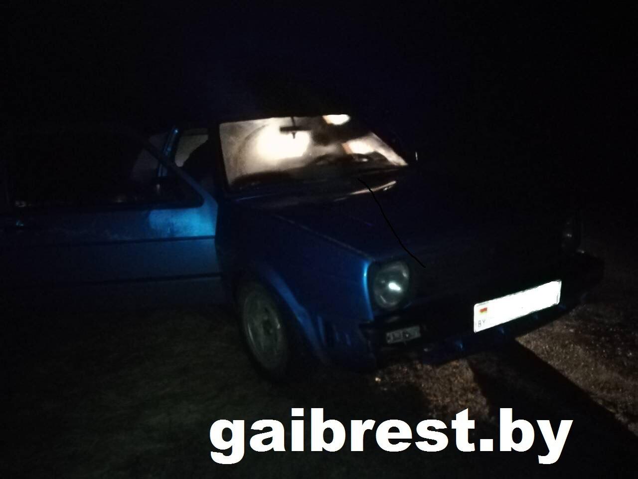 16-летняя девушка везла пьяную компанию домой, и пыталась удрать от сотрудников ГАИ
