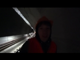 [1+ Анриал путешествия] ВЛОГ - ПРОБРАЛИСЬ В МЕТРО .СПАЛИЛА ОХРАНА.Диггерство