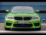 BMW M Colours - BMW M5 in Special Paint Java Green metallic