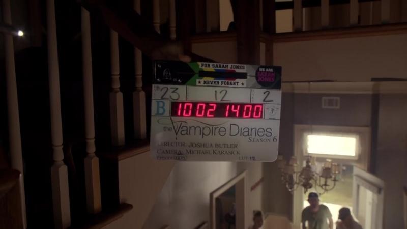 За кадром 6 сезона Дневников вампира
