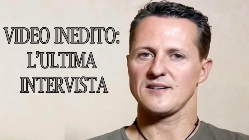 VIDEO INEDITO: L' ultima intervista di Michael Schumacher
