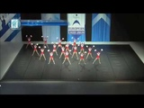 Cheerleading .Senior Pom Russian Federation Non Stop.