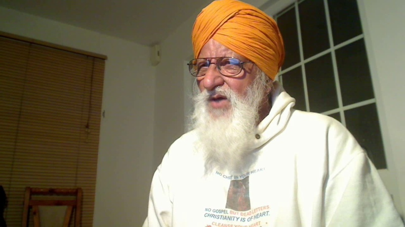 Punjabi Christ Amar Dev Ji requests that Preach Gospel world wide Gospel is Universal and
